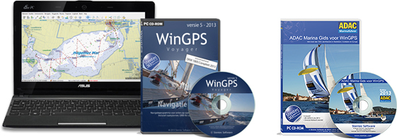 Navigation software for your laptop on board with route planner Europe.