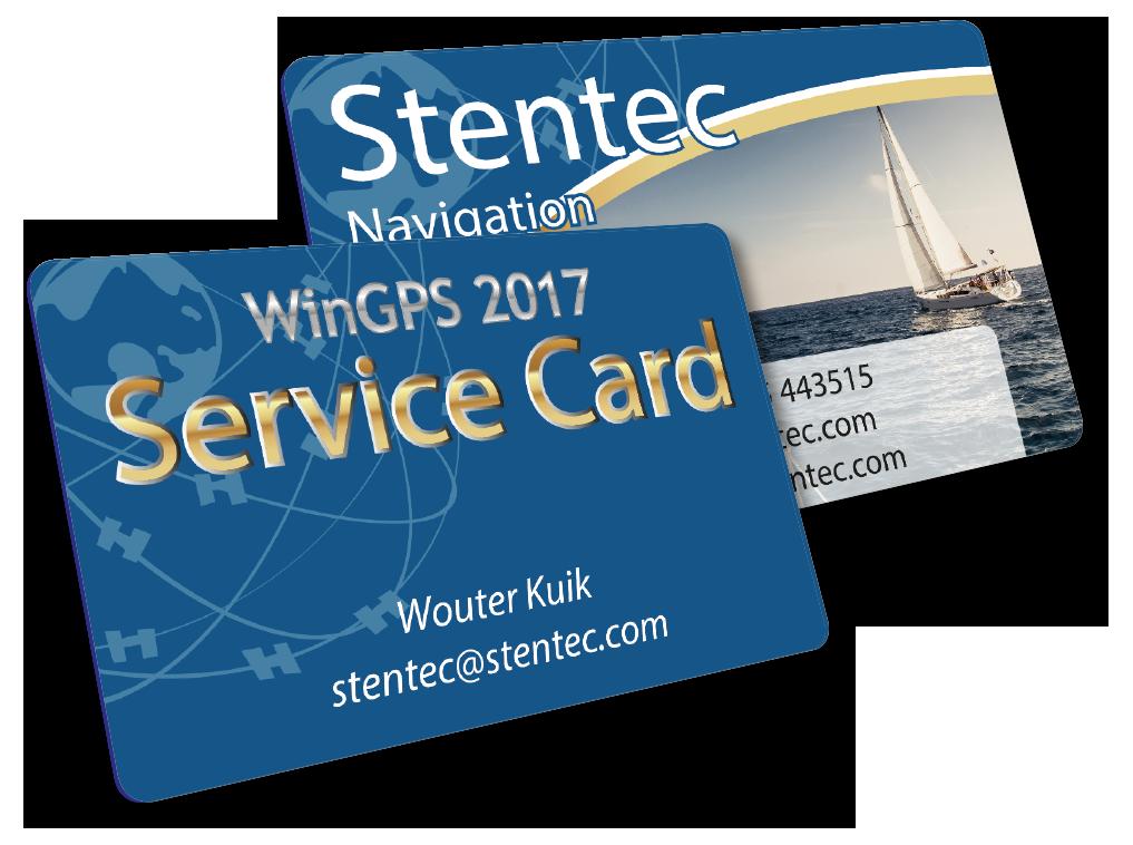 WinGPS Service Card 2017