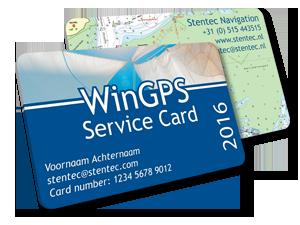 WinGPS Service Card 2016