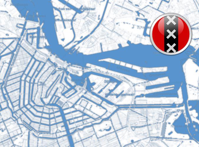 DKW Vaarkaart Amsterdam