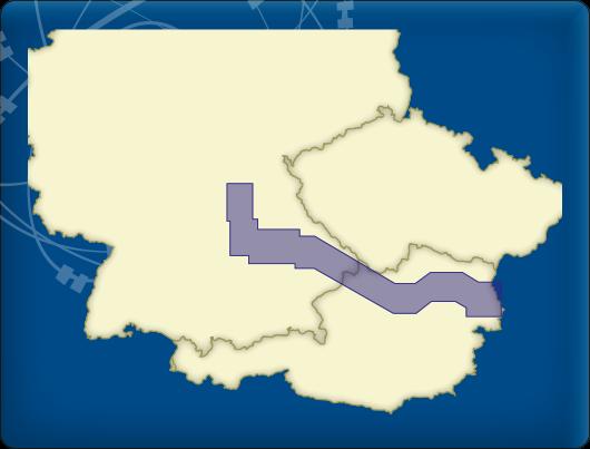 DKW Vaarkaart Donau 1-West