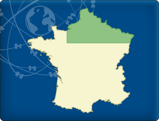 DKW Vaarkaart Noord-Frankrijk