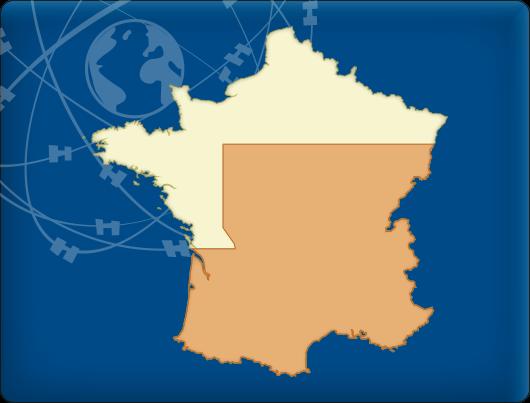 DKW Vaarkaart Zuid-Frankrijk