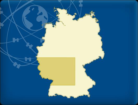 DKW Vaarkaart Zuidwest-Duitsland