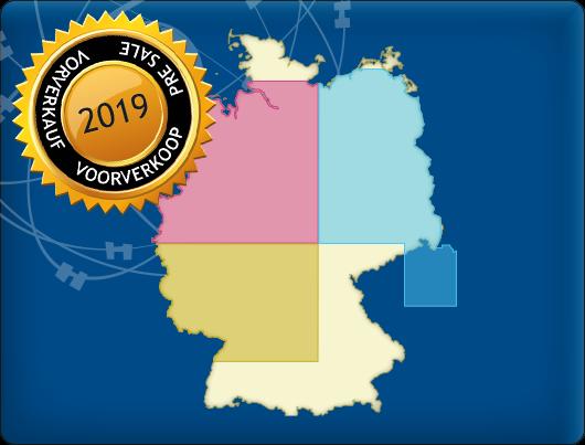 DKW Chart set: Northwest, Southeast & Northeast Germany