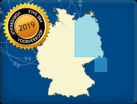 DKW Vaarkaart Noordoost-Duitsland