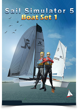 Boatset 1 Add-on voor Sail Simulator 5