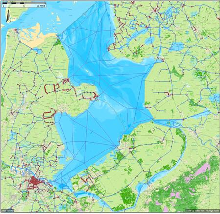 Niederlande Ijsselmeer Karte.Nachrichten Stentec Navigation