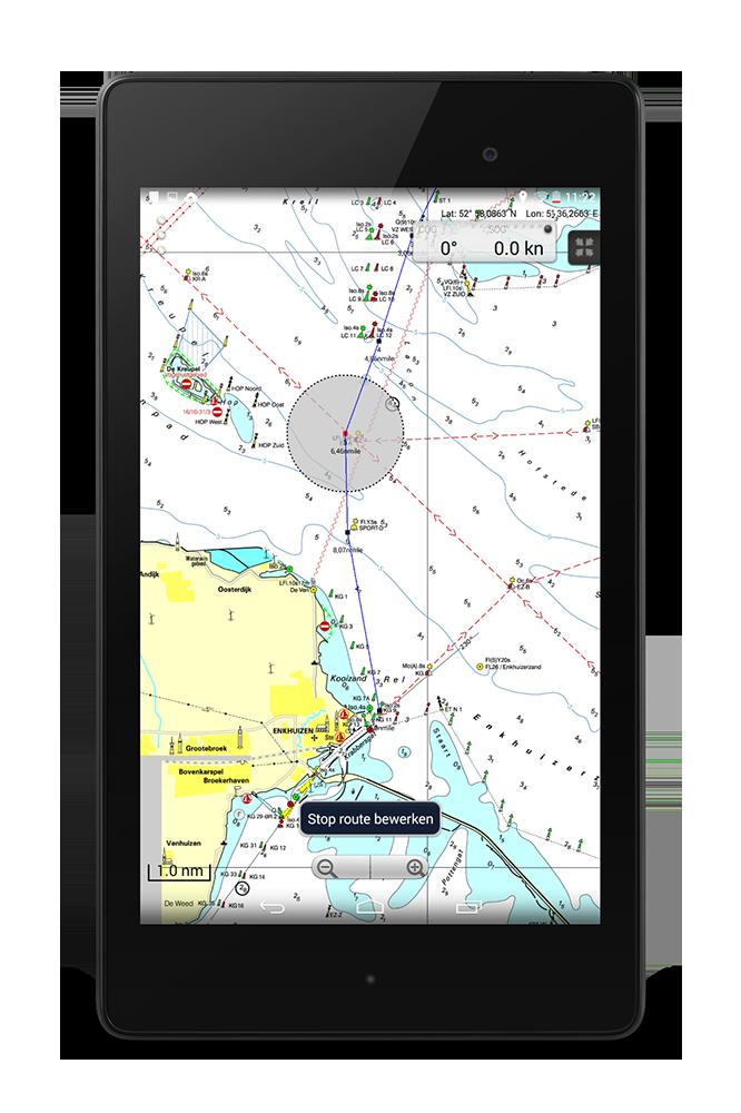 Wingps Marine Navigation On Your Tablet Stentec Navigation