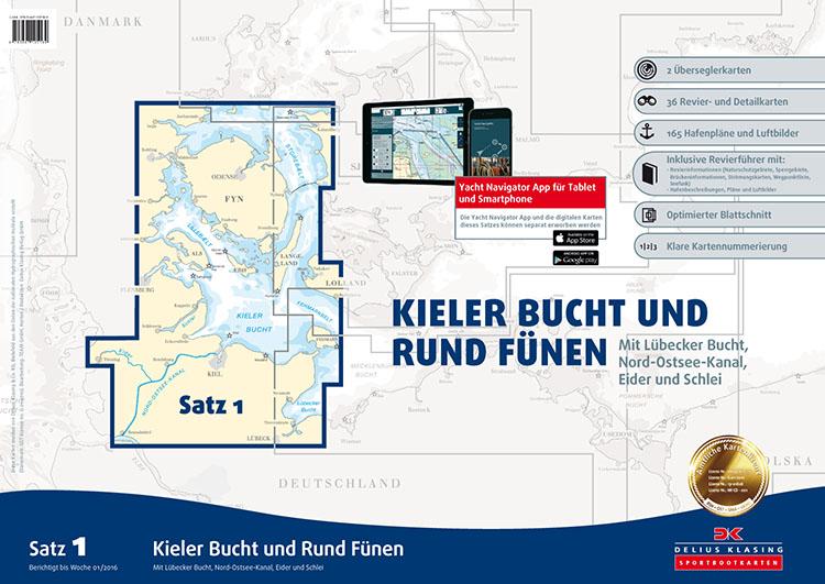 DK1 Kieler Bocht en Rond Fünen