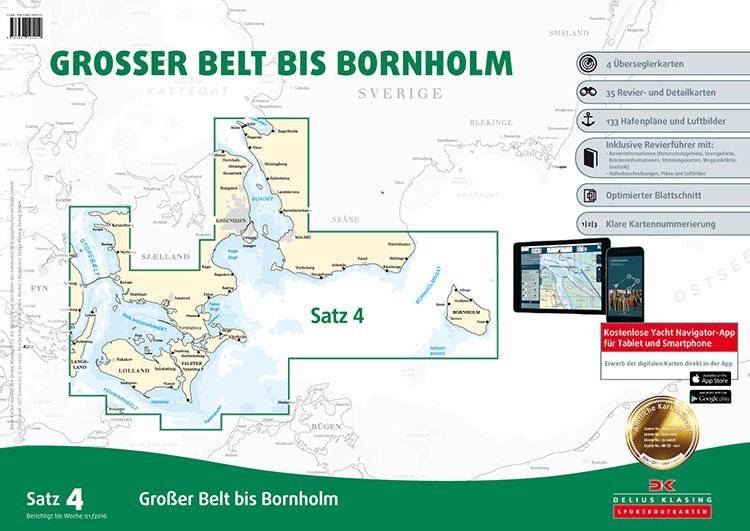 DK4 Großer Belt bis Bornholm