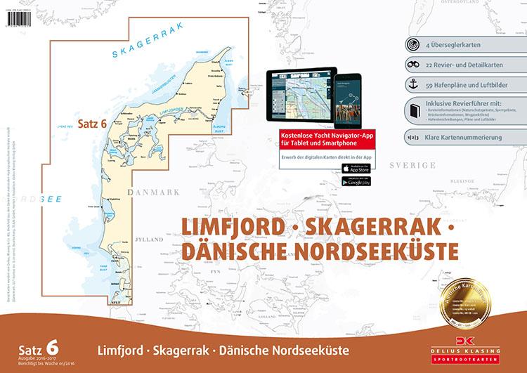 DK6 Limfjord - Skagerrak - Dänische Nordseeküste