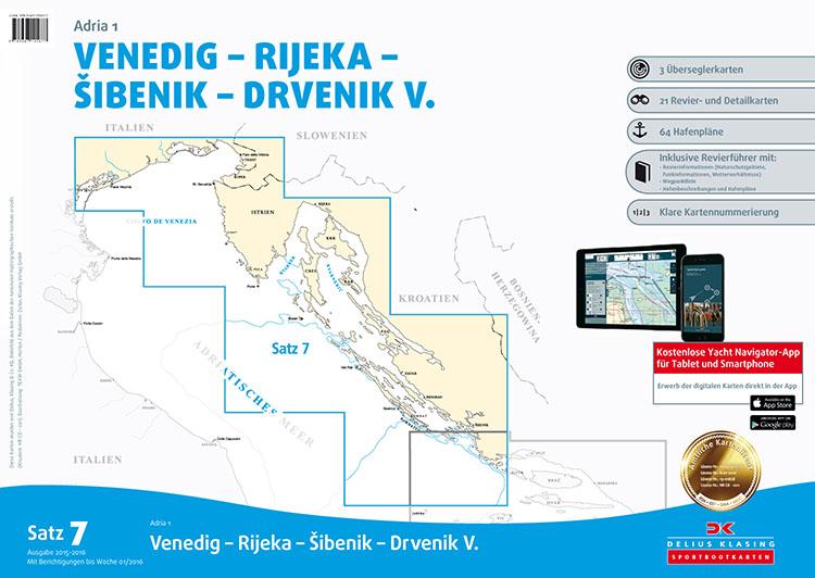 DK7 Venice - Rijeka - Sibenik - Drvenik V.