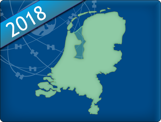 DKW Vaarkaart Nederland 2018