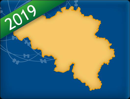 DKW Vaarkaart België