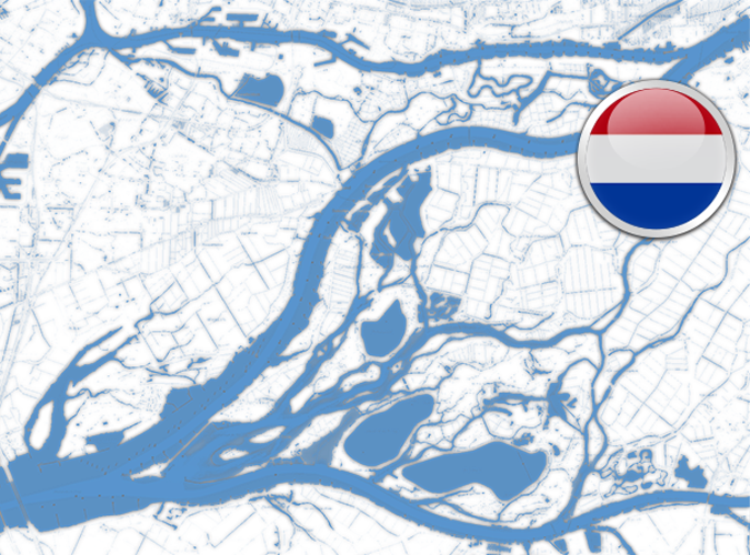 DKW Vaarkaart Biesbosch
