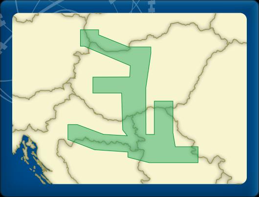 DKW Vaarkaart Donau 2-Midden
