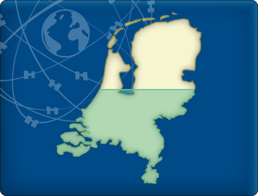 DKW Vaarkaart Nederland Zuid