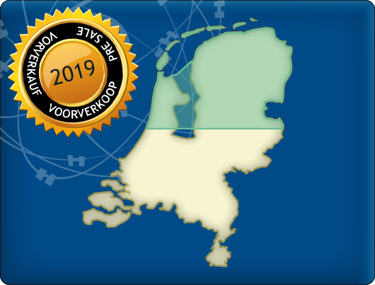 DKW Vaarkaart Nederland Noord