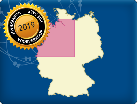 DKW Vaarkaart Noordwest-Duitsland