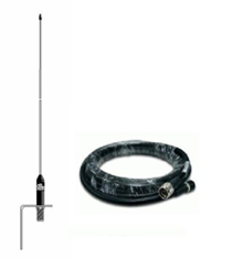 Celmar-0 RVS sprietantenne met 10m kabel