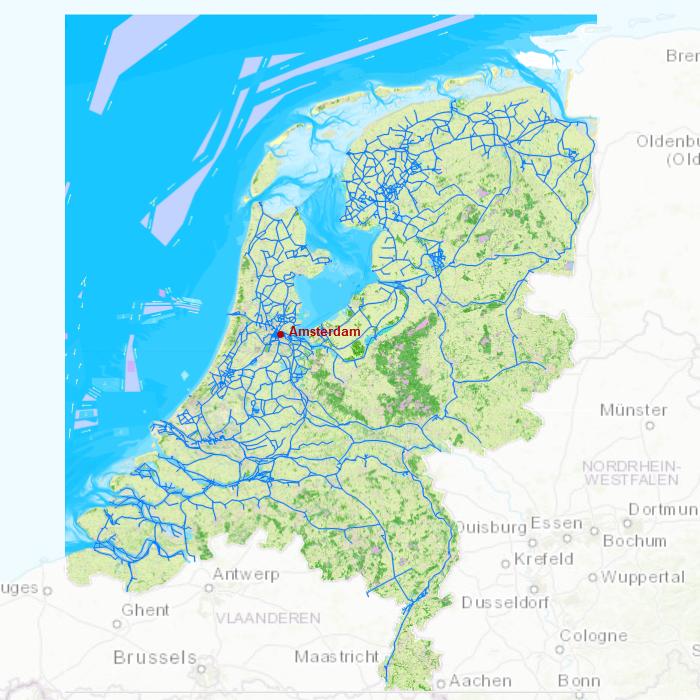 holland kanäle karte DKW die Niederlande   Stentec Navigation