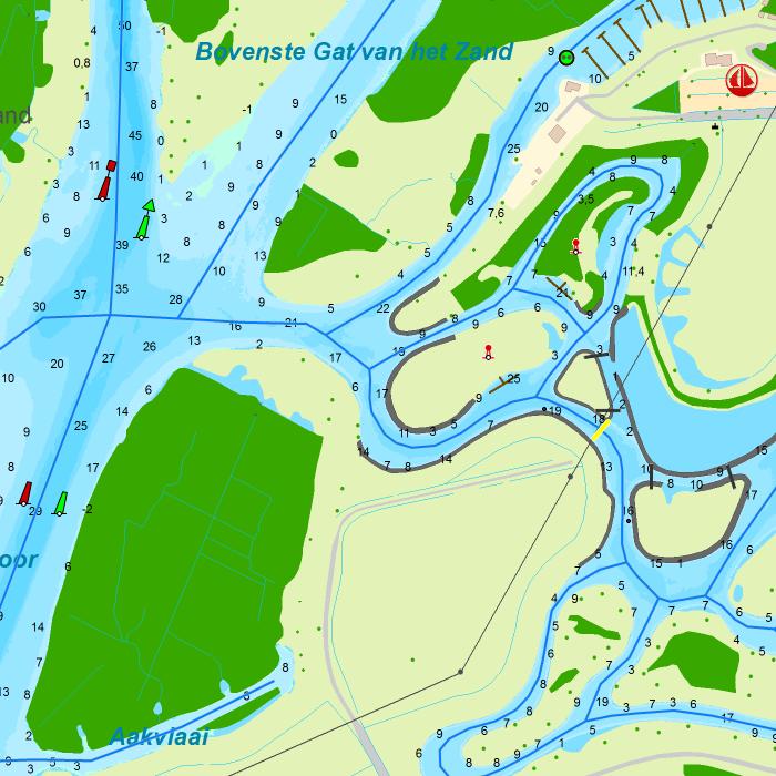 binnengewässer holland karte DKW die Niederlande   Stentec Navigation