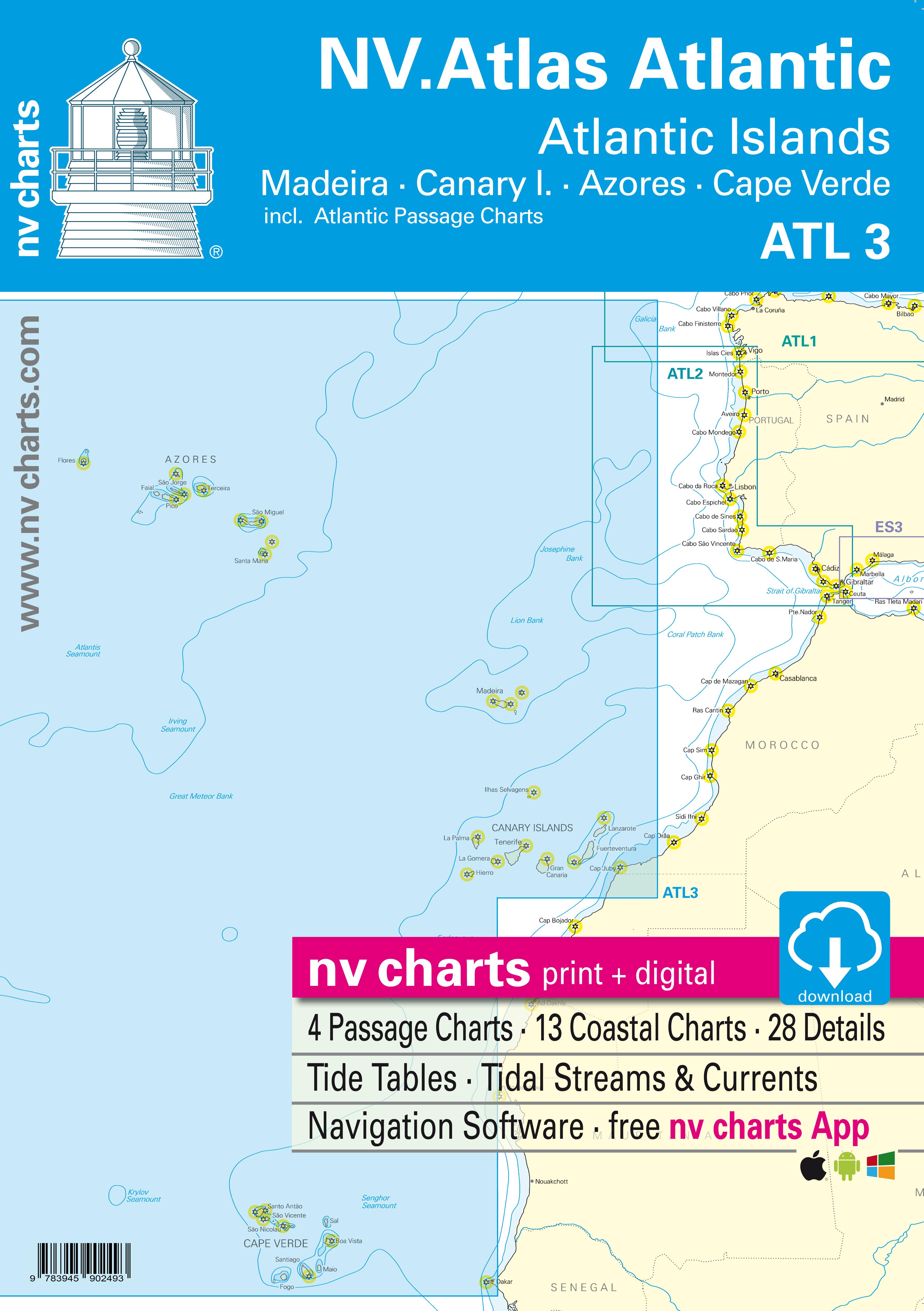 NV Atlas ATL3: Madeira, Canary Isles, Azores & Cape Verdes