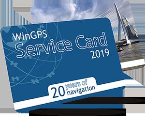 WinGPS Service Card 2019
