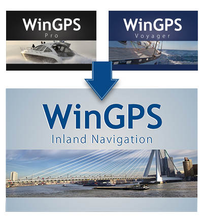 Upgrade WinGPS Inland Navigation
